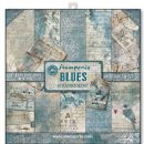Stamperia - Double-Sided 12 x 12 Inch Paper Pack - Blues